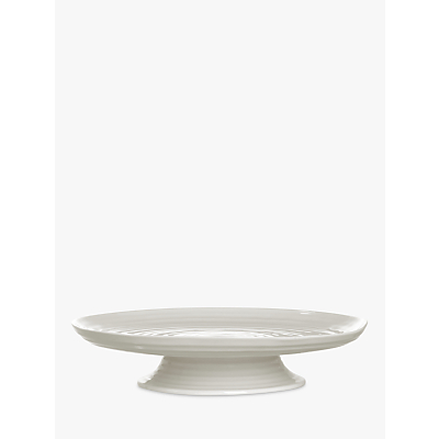 Sophie Conran for Portmeirion Footed Cake Plate, White, 31cm