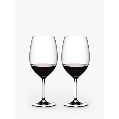 Riedel Vinum Bordeaux Glass, Set of 2