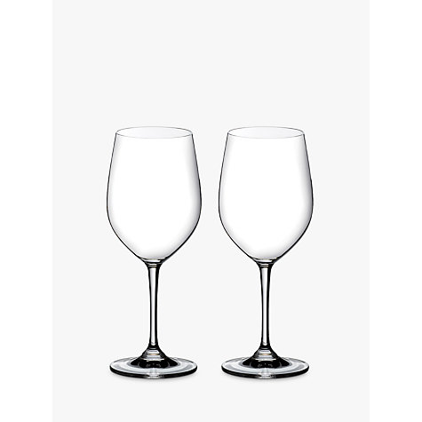 Buy Riedel Vinum Chardonnay Glass, 0.35L, Set of 2 Online at johnlewis.com