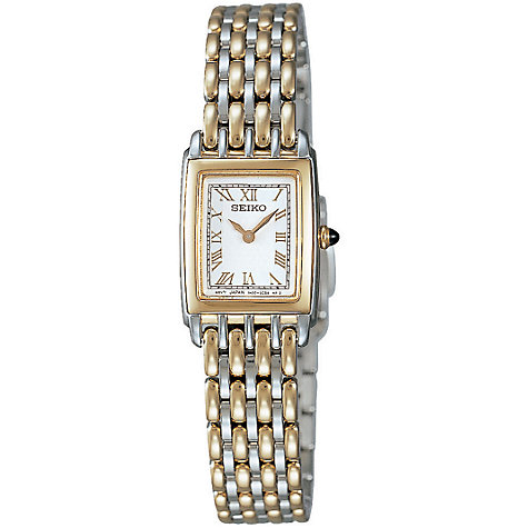 Buy Seiko SUJ252 Two-Tone Women's Watch Online at johnlewis.com