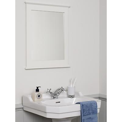 John Lewis St Ives Mirror, White