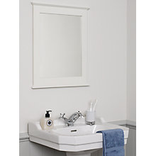 Buy John Lewis St Ives Mirror, White Online at johnlewis.com