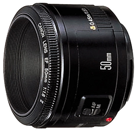 Buy Canon EF 50mm f/1.8II Standard Lens Online at johnlewis.com