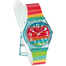 Buy Swatch GS124 Colour The Sky Watch, Multi Online at johnlewis.com