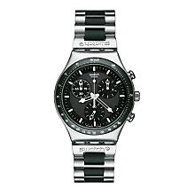 Buy Swatch Core Collection Windfall Chronograph Watch Online at johnlewis.com