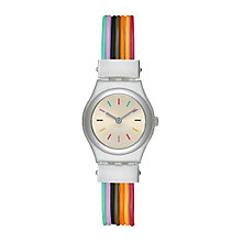 Buy Swatch YSS1006 Unisex Core Collection Filamento Multicolore Watch, Multi Online at johnlewis.com