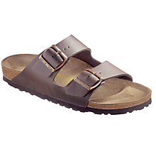 Buy Birkenstock Men's Arizona Sandals, Stone Online at johnlewis.com