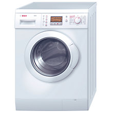 Buy Bosch WVD24520GB Washer Dryer, 5kg Wash/2.5kg Dry Load, C Energy Rating, 1200rpm Spin, White Online at johnlewis.com