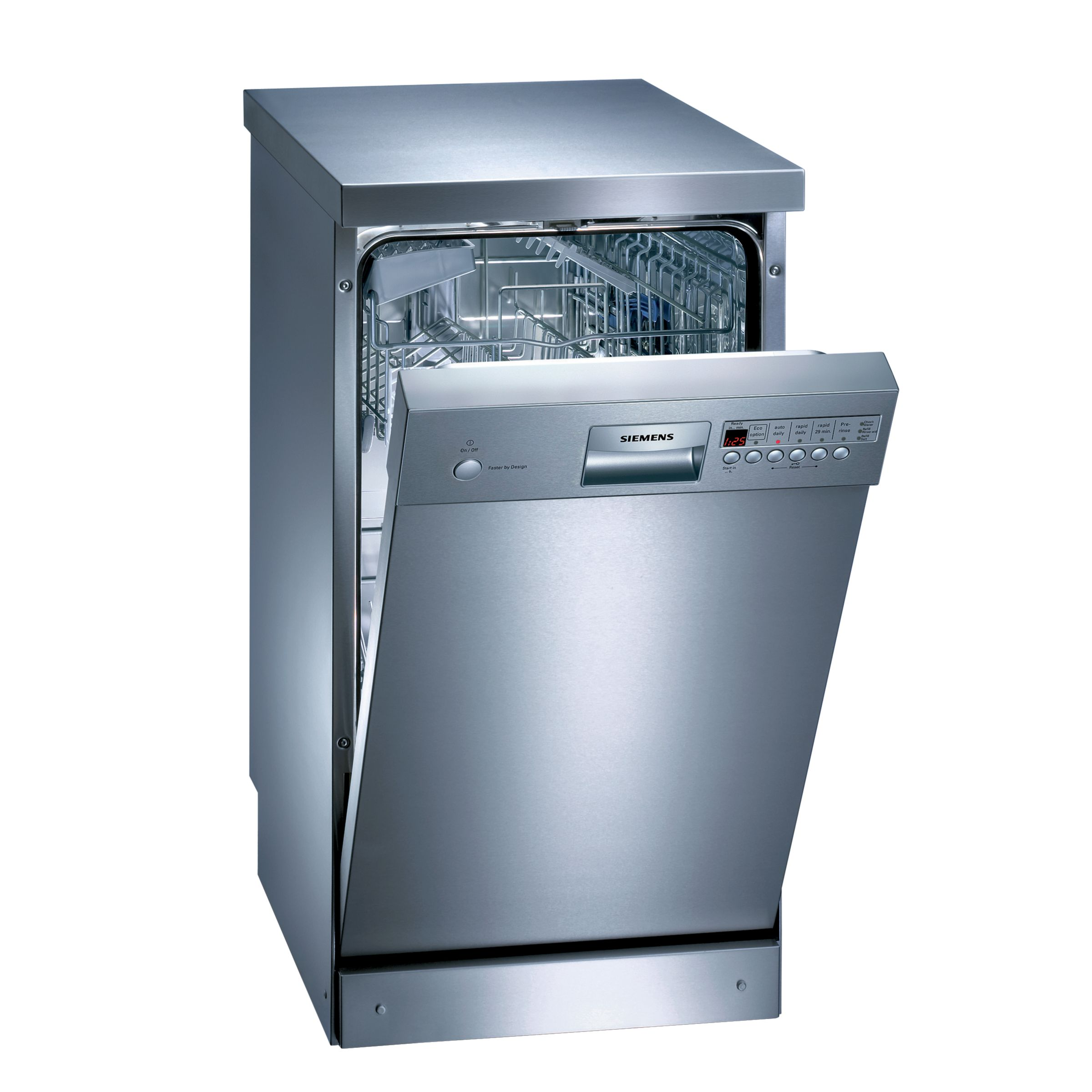 View our range of slimline dishwashers