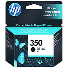 Buy HP 350 Inkjet Cartridge, Black, CB335EE Online at johnlewis.com