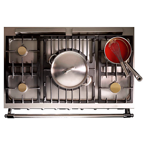 Buy Westahl Cluny WG1052GE Dual Fuel Range Cooker, Chinese Red Online at johnlewis.com