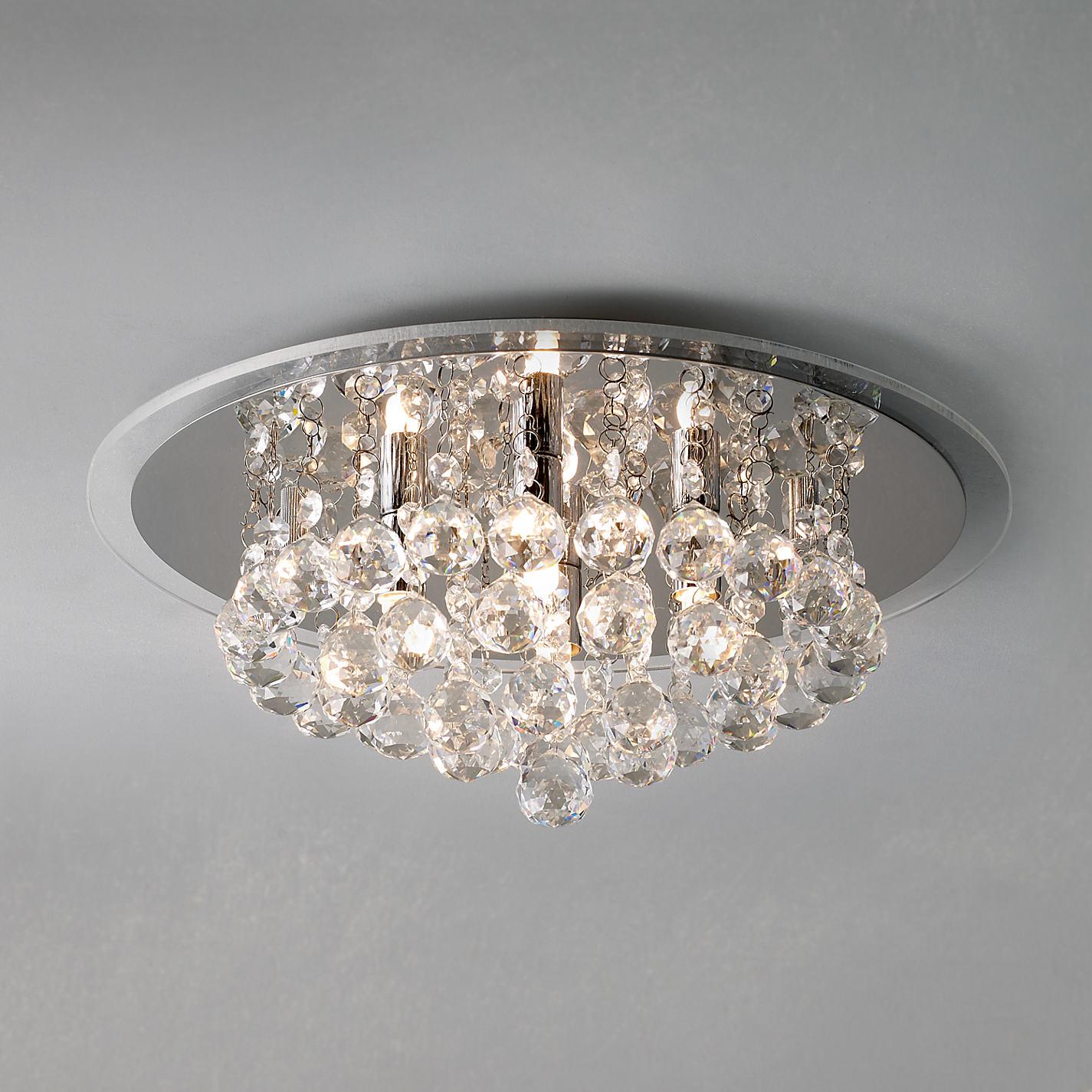 crystal ceiling lighting john lewis astro lighting evros light crystal bathroom