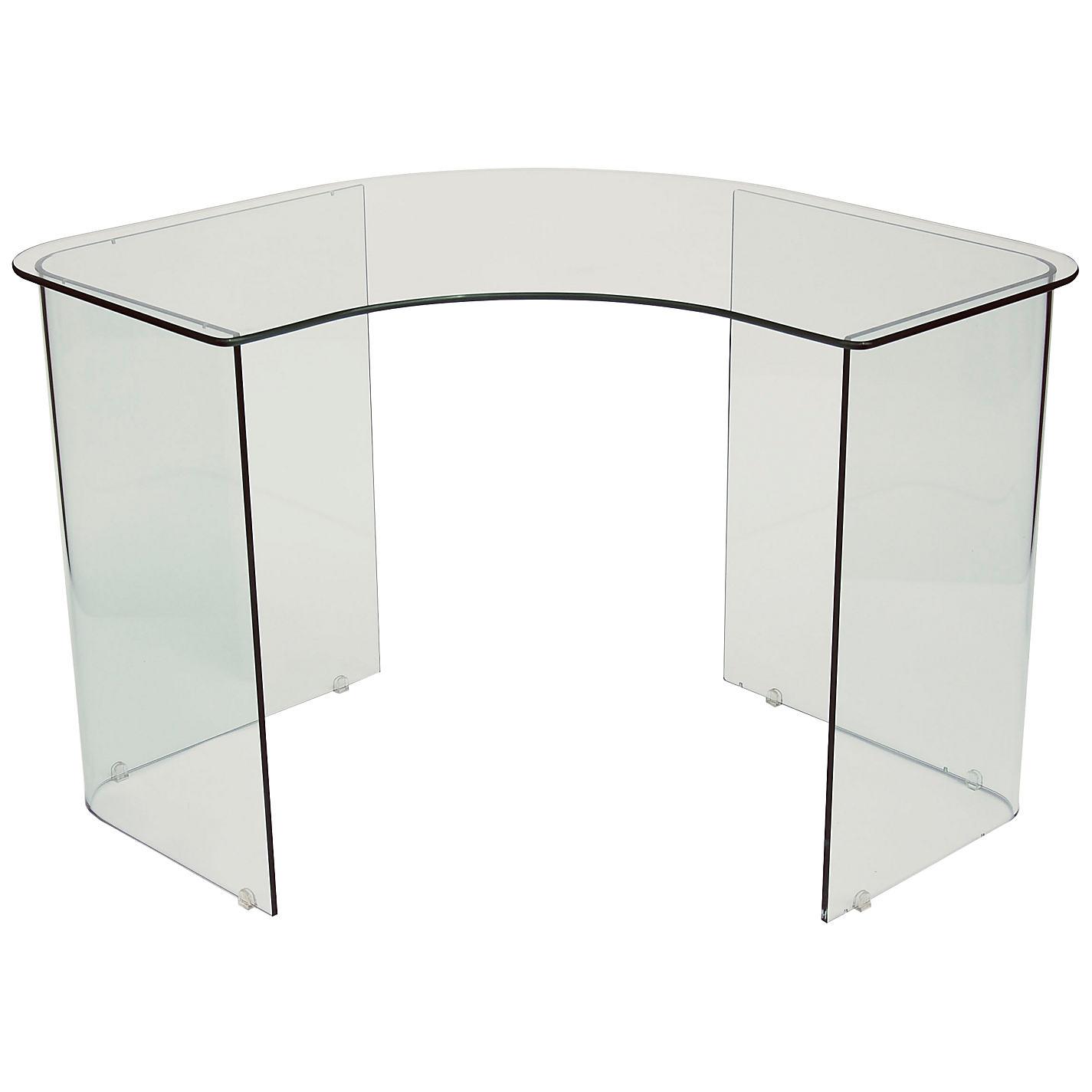 glass corner desk john lewis staten glass corner desk ebay  - john lewis staten glass corner desk ebay