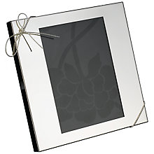 "Buy Vera Wang for Wedgwood Love Knots Photo Frame, 6 x 8"" (15 x 20cm) Online at johnlewis.com"