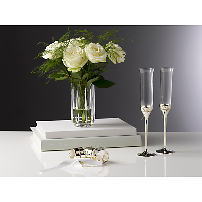 Vera Wang for Wedgwood Love Knots Flutes, Set of 2