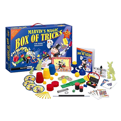Buy Marvin's Magic: 125 Amazing Tricks Set Online at johnlewis.com