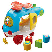 Buy VTech Learn and Sort Helicopter Online at johnlewis.com