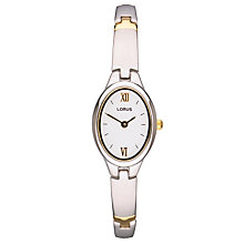 Buy Lorus Two-Tone Women's Dress Bracelet Watch Online at johnlewis.com