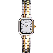 Buy Lorus REG75BX9 Women's Two-Tone Watch Online at johnlewis.com