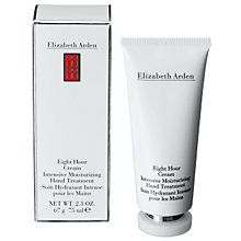 Buy Elizabeth Arden Eight Hour® Cream Intensive Moisturising Hand Treatment, 75ml Online at johnlewis.com
