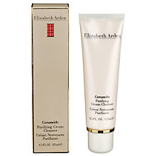Buy Elizabeth Arden Ceramide Purifying Cream Cleanser, 125ml Online at johnlewis.com