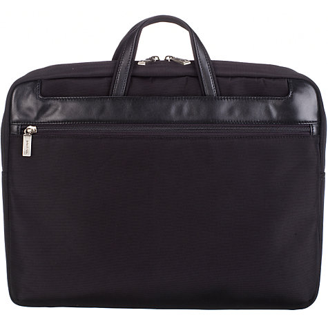 Buy John Lewis Rome Laptop Bag, Black, 15 Inch Online at johnlewis.com