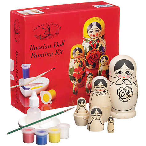 Buy House of Crafts Russian Doll Painting Kit Online at johnlewis.com