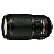 Buy Nikon 70-300mm f/4.5-5.6G IF-ED Telephoto Zoom Lens Online at johnlewis.com