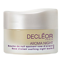 Buy Decléor Aromessence Rose D'Orient Night Balm, 15ml Online at johnlewis.com