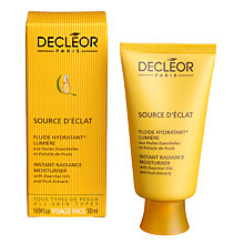 Buy Decléor Source D'Éclat Instant Radiance Moisturiser, 50ml Online at johnlewis.com