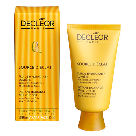 Buy Decléor Source DÉclat Instant Radiance Moisturiser, 50ml Online at johnlewis.com