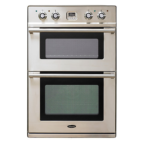 Buy Britannia OV-201LMP-SS Double Electric Oven, Stainless Steel Online at johnlewis.com