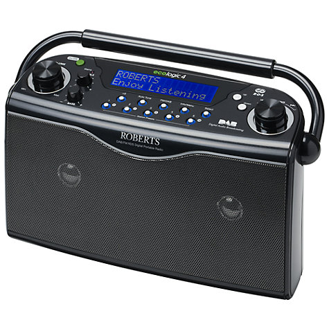 Buy ROBERTS Ecologic 4 DAB Digital Radio Online at johnlewis.com
