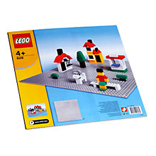 Buy Lego Building Plate, Grey Online at johnlewis.com