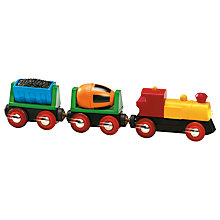 Buy Brio Battery Operated Train Online at johnlewis.com