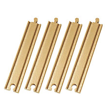 Buy Brio Long Straight Tracks Online at johnlewis.com