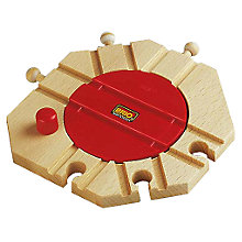 Buy Brio Mechanical Turntable Online at johnlewis.com