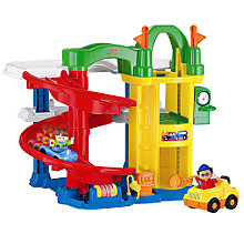 Buy Fisher-Price Little People Racing Ramps Garage Online at johnlewis.com