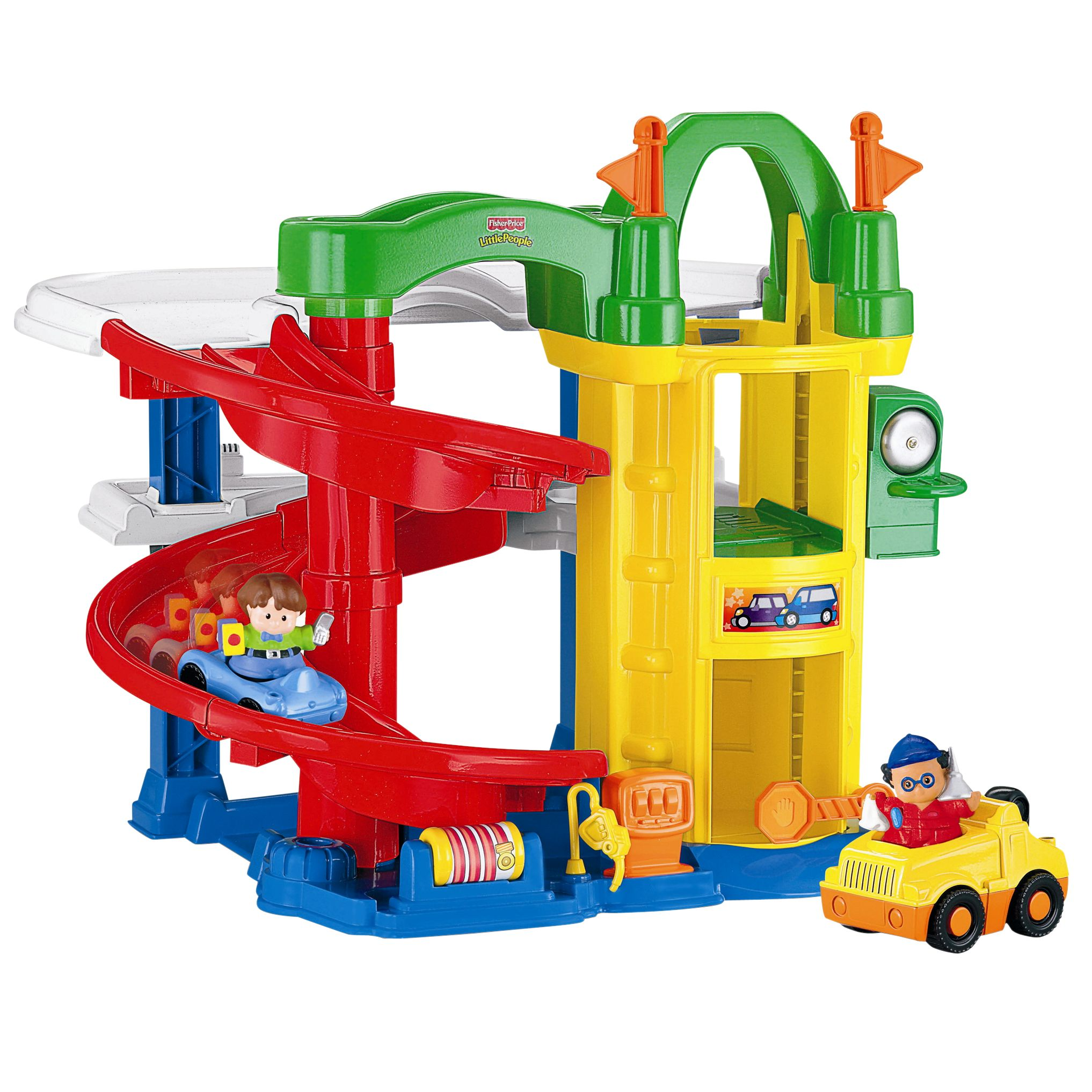 Little People Racing Ramps Garage