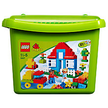 Buy LEGO Duplo Deluxe Brick Box Online at johnlewis.com