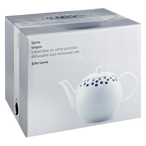 Buy John Lewis Spots Teapot Online at johnlewis.com