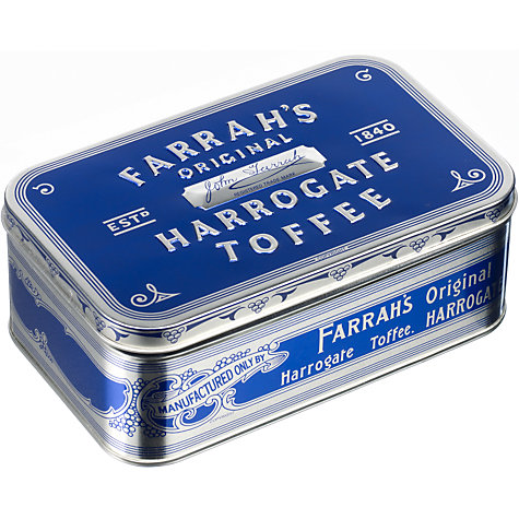 Buy Farrah's Large Original Harrogate Toffee Tin, 350g Online at johnlewis.com
