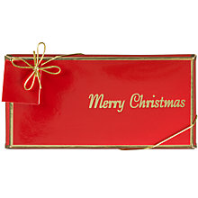Buy Ambassador's Of London Merry Christmas Chocolate Bar, 100g Online at johnlewis.com
