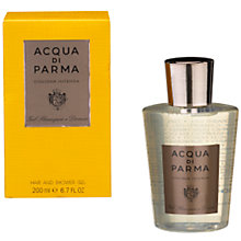 Buy Acqua di Parma Colonia Intensa Hair & Shower Gel Online at johnlewis.com