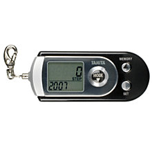 Buy Tanita 3 Axis Pedometer, Black/Silver Online at johnlewis.com