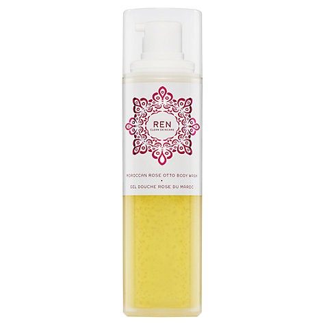 Buy REN Moroccan Rose Otto Body Wash Online at johnlewis.com