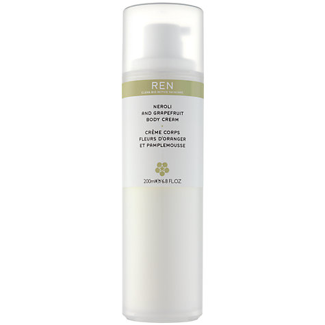 Buy REN Neroli and Grapefruit Body Cream, 200ml Online at johnlewis.com
