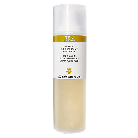Buy REN Neroli and Grapefruit Body Wash, 200ml Online at johnlewis.com