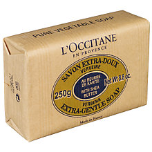 Buy L'Occitane Shea Butter Soap, Verbena, 250g Online at johnlewis.com