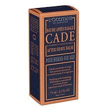 Buy L'Occitane Cade Aftershave Balm, 75ml Online at johnlewis.com